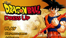 Dragon ball dress up jeu d'habillages