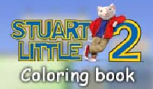 Stuart Little 2 coloring book livre coloriages