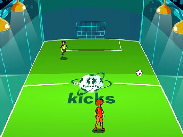 Super Speed One on One Soccer