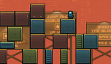 The blocks cometh jeu de survie