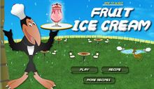 jeu Fruit ice Cream