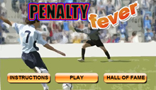 jeu Penalty Fever