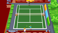 jeu Twisted Tennis